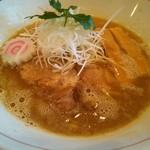 ラーメン 奏 - 魚介系鶏そば醤油 700円