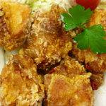花風 - 若鶏の唐揚げピリ辛ソースがけ定食864円