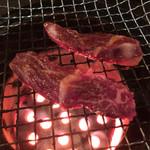 焼肉つるや橿原 - 上ハラミ  1300円  肉肉しさNo. 1  (-_^)b