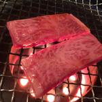 焼肉つるや橿原 - ロース 1300円  トロうま〜♪( ´▽`)