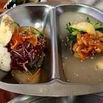 板橋冷麺 - ハーフ&ハーフ冷麺!