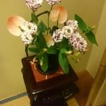 人形町今半 - お部屋のお花♡