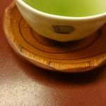 人形町今半 - 最後のほうじ茶にお抹茶混ぜたもの(*^^*)