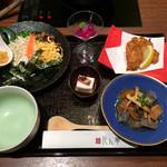 健美和楽 花ん華 - 島じゅうり膳 1580円