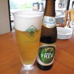 檪の丘 - ハートランドの生ビールとノンアルコールビール。