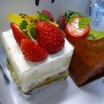 セセシオン - 料理写真:☆『セセシオン』さんのケーキ(≧▽≦)/~♡☆
