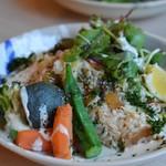 夜ZORA CAFE - 野菜肉飯