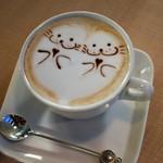 夜ZORA CAFE - かわいいラテアート♡