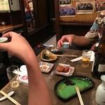 きらく - kiraku:食事の様子