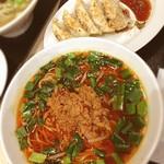 王記厨房 イオンモール千葉ニュータウン店 - 台湾麺・餃子セット☺︎