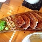 蕎房 猪口屋 - 鴨焼き