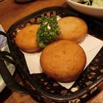 築地日本海 - 2016.7 もちチーズの揚げたてフライ