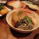 築地日本海 - 2016.7 名物ブリ大根