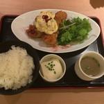 53044125 - 地鶏南蛮定食、1,000円
