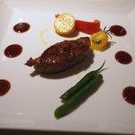 サザンタワーダイニング - 熊本産あか牛ロース肉の胡椒焼き