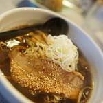 本家 麺蔵 - 料理写真:熟成醤油 + 半チャン