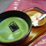 さざなみ茶屋 - 抹茶セット(冷)(350円)