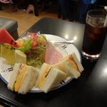 キャロル - ミックスサンドモーニング600円(税込)