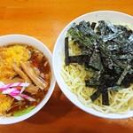麺 まる井 - 納豆ざる
