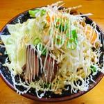 麺 まる井 - あぶら麺(味噌)