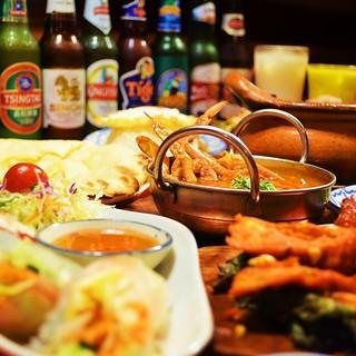 2ヶ国のアジアの味をご堪能下さい!