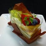 セセシオン - ☆カスタードクリームの層が結構美味しいですね!(^^)!☆
