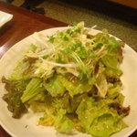 吉四夢 - シャキシャキレタスのチョレギサラダ(レモン風味の醤油ドレッシング)
