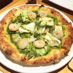 ワイン食堂 ガブガブ - ランチのピッツァ