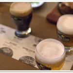 53052733 - エールビール飲み比べ