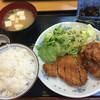 ファミリー - 料理写真:からあげ&とんかつ定食500円