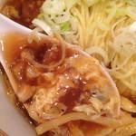 53053114 - 椎茸、タケノコ、ネギ、玉子、挽肉って感じかな