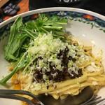 中国料理 四川亭 - 汁なし担々麺