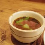 炭旬 - お味噌汁