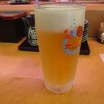 53056137 - 生ビール 476円(税別)                       (2016.6)