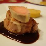 シャテール - 国産仔牛フィレ肉のソテー フォアグラの味噌漬けと共に