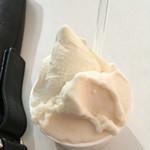 みのりカフェ - マスカルポーネとピーチ
