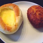 シェ・リュイ - クリームパン、カニクリームパン
