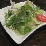 ぐるめや - シンプルなドレッシングで、野菜本来の味が楽しめました