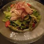 バー レッドローズ - 豚しゃぶサラダ