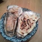 かき小屋鳥羽水産 - 牡蠣のバター焼きと牡蠣グラタン