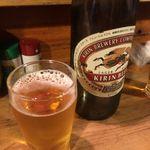 焼き鳥 若竹 - 瓶ビール