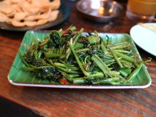 ハンサム食堂 - パックブン・ファイデン「空芯菜の炒め物」