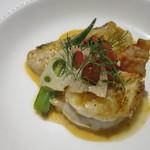 ル・ヴァン - 函館沖真鱈とオマール海老のポワレ スパイス風味