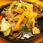 53069814 - イノシシと野菜のちゃんぷる