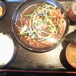 高麗館 - ランチ~レバニラ炒め定食
