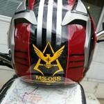 月華 - 僕のヘルメットです見かけたら手を振ってくださいね~!