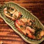 旨い魚とバリメシ 南風 - ガーリックシュリンプ
