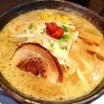ら麺のりダー - 濃厚味噌ラーメン