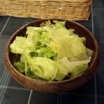 Shishiria - 前菜のサラダ