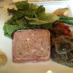 53076437 - お肉のテリーヌと砂肝のコンフィ